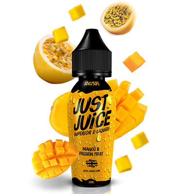 Mango & Passion Fruit by Just Juice 50ml