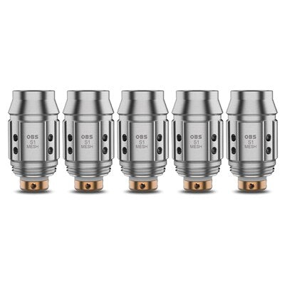 5 Pack OBS Cube Mini Coil Heads