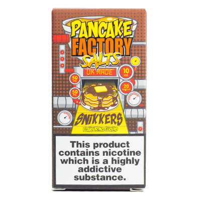 Snikkers Salt by Pancake Factory 10ml 20mg
