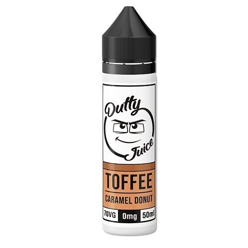 Toffee Caramel Donut E-Liquid by Dutty Juice 50ml