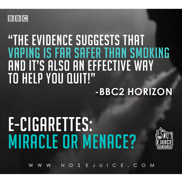 vaping is safer than smoking by BBC