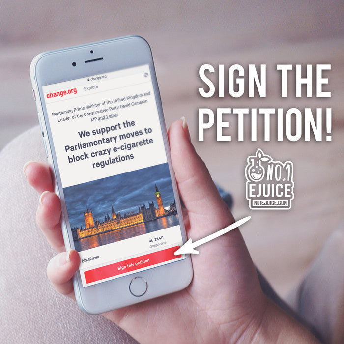 TPD Petition UK - Vote Against TPD
