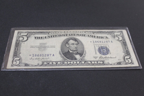 Old Bills,Silver Certificate And Red Seal – S&S Collectibles