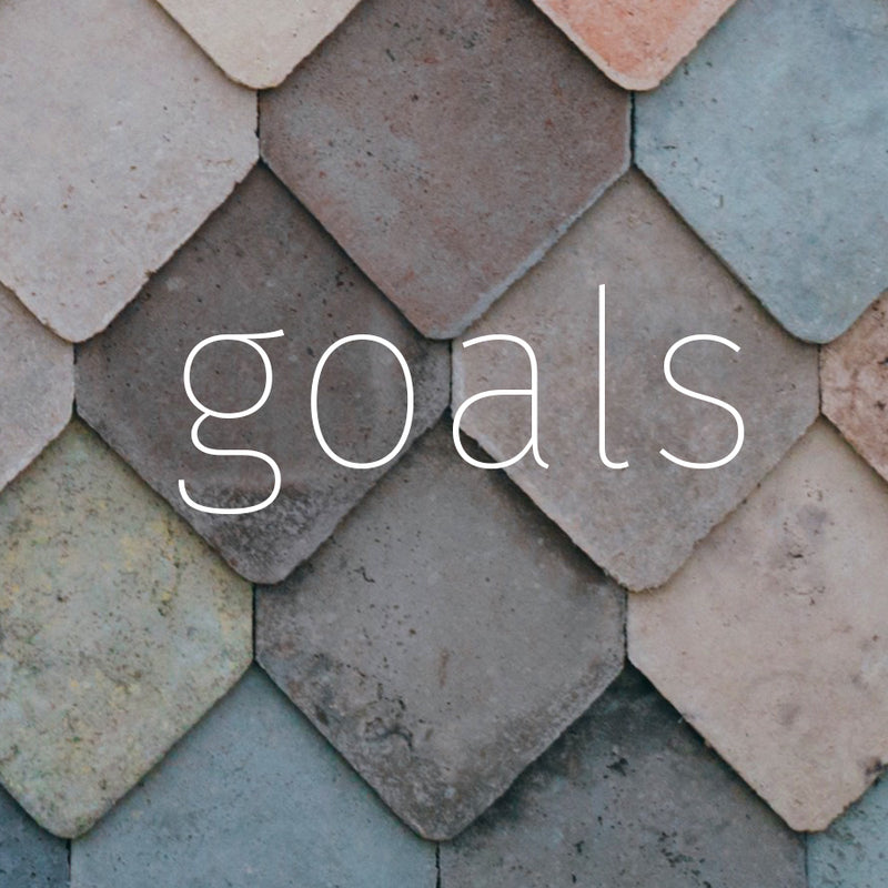 Working list of 2018 goals