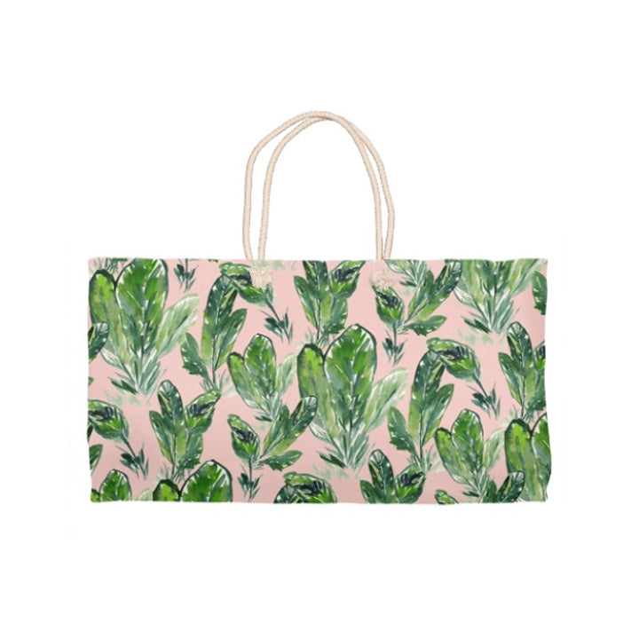 Tote Bag | Pink Palm