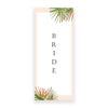 Coral Palm Chair Signs