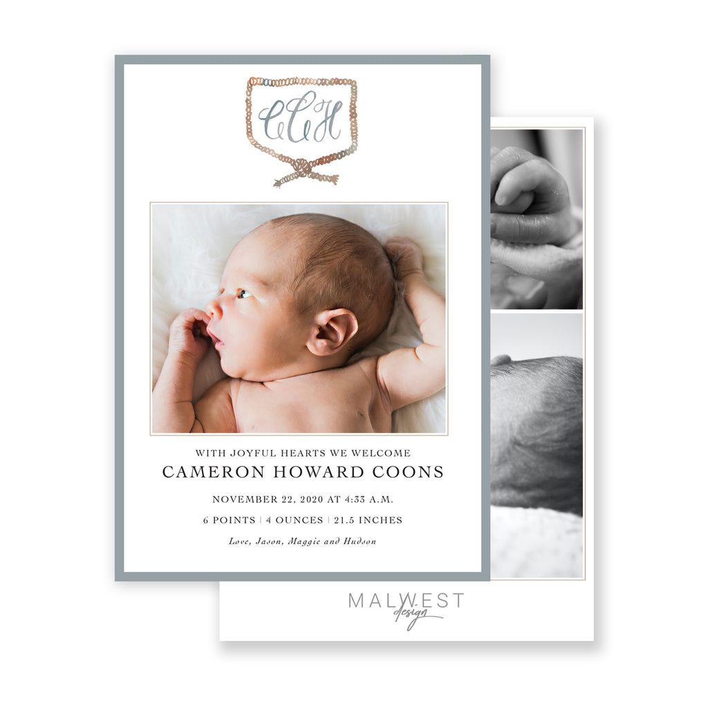 Cameron Birth Announcement