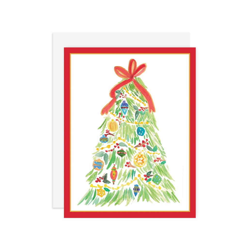 Christmas Tree - A2 notecard