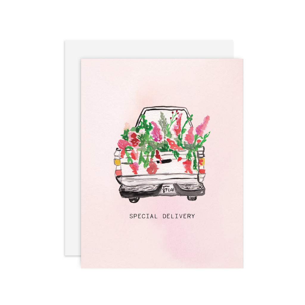 Special Delivery - A2 notecard