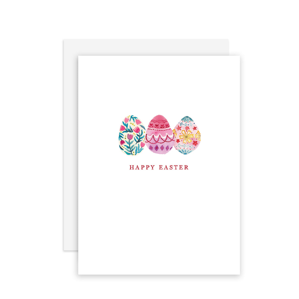 Easter Eggs - A2 note card