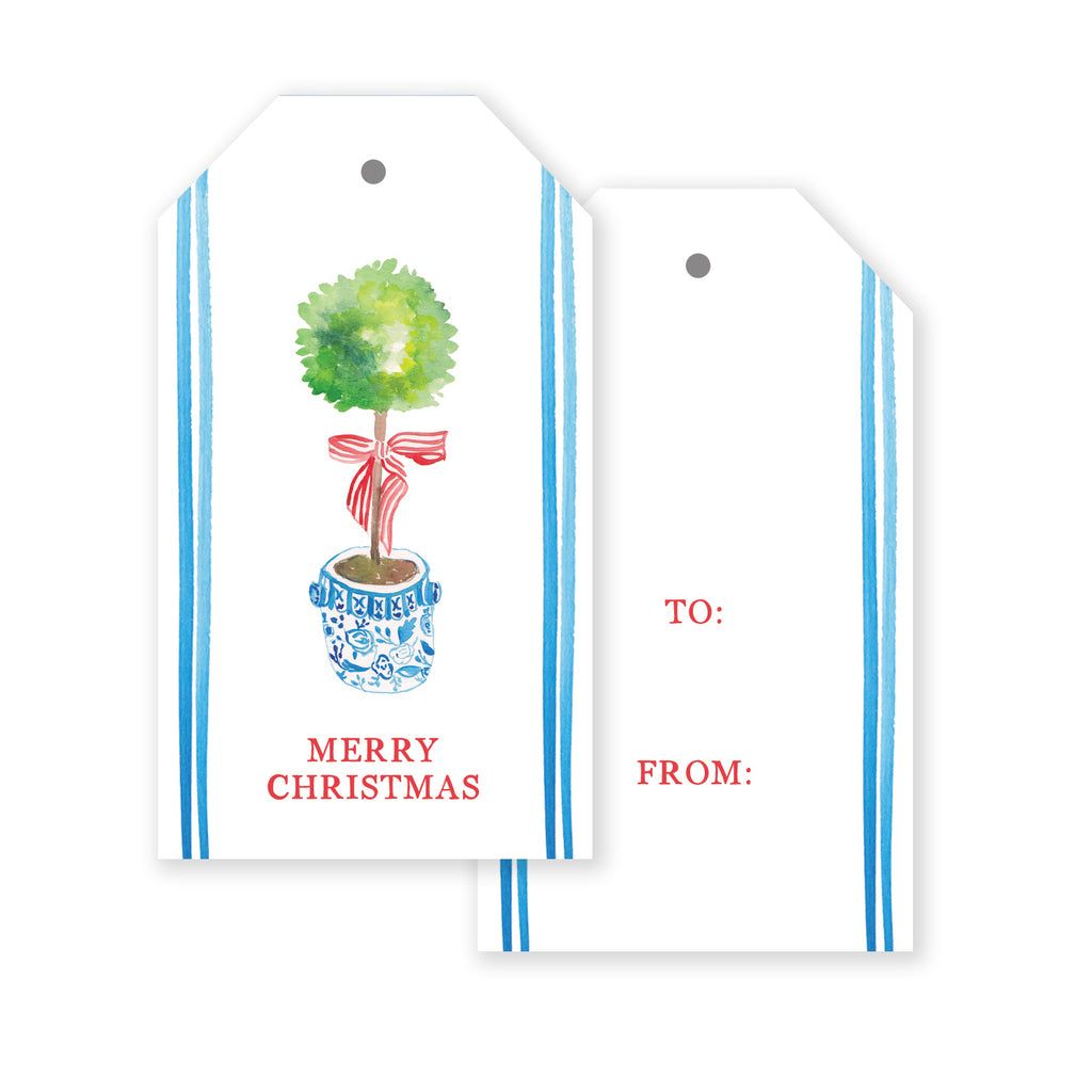 Topiary Gift Tag