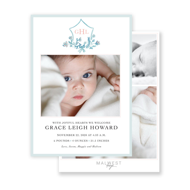 Grace Birth Announcement