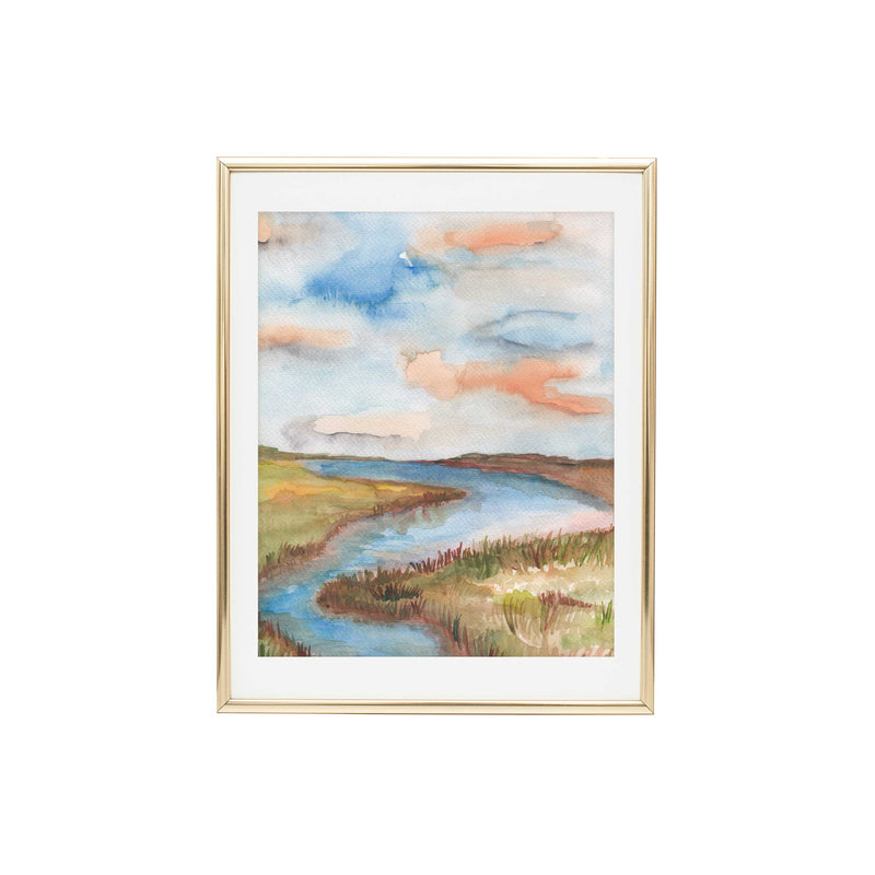 Marsh No.4 Art Print