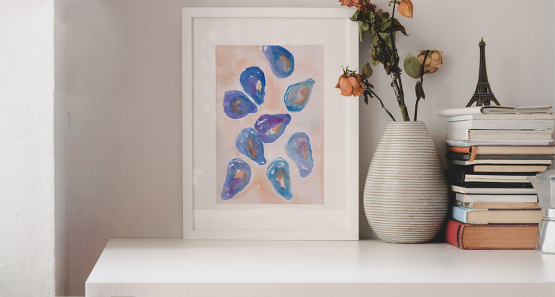 Oysters Imperial Art Print