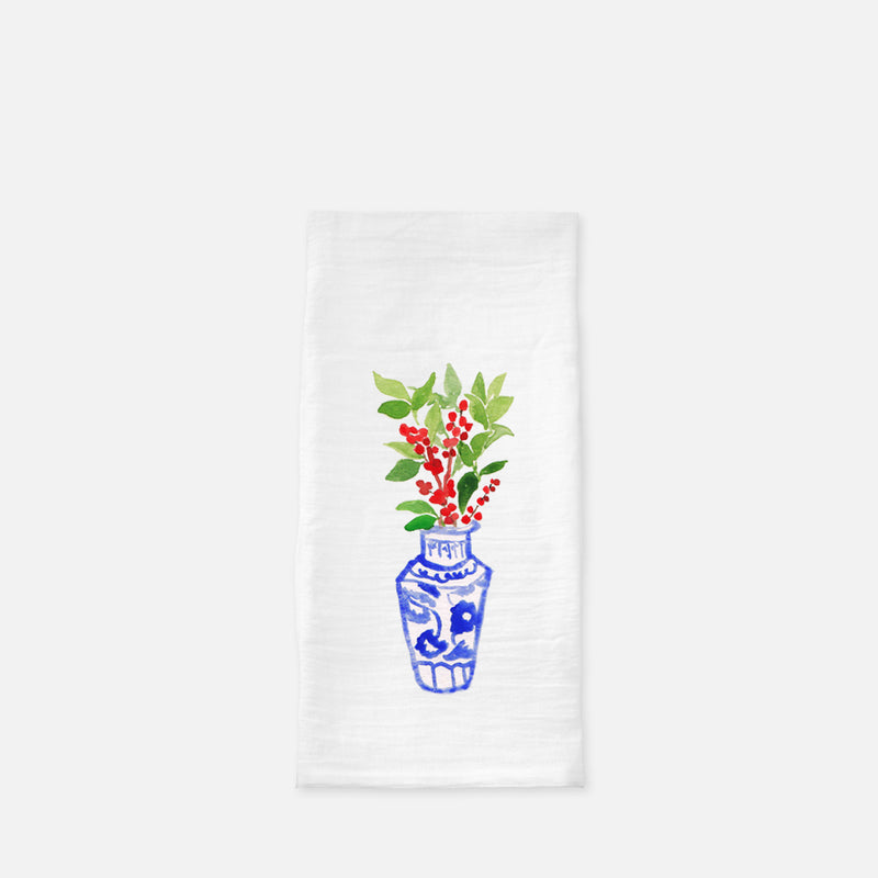 Holly Springs Tea Towel