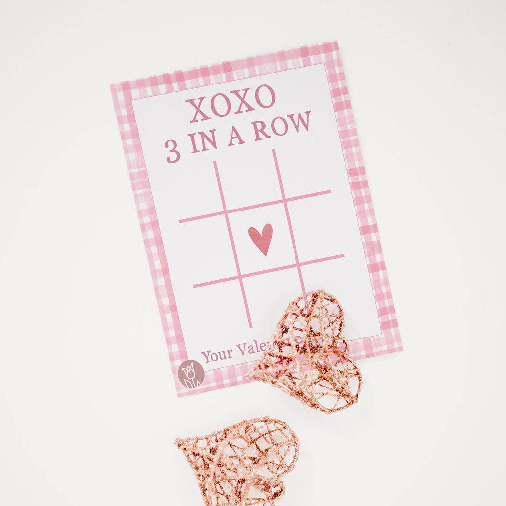XOXO Valentine's Tag - Digital Download