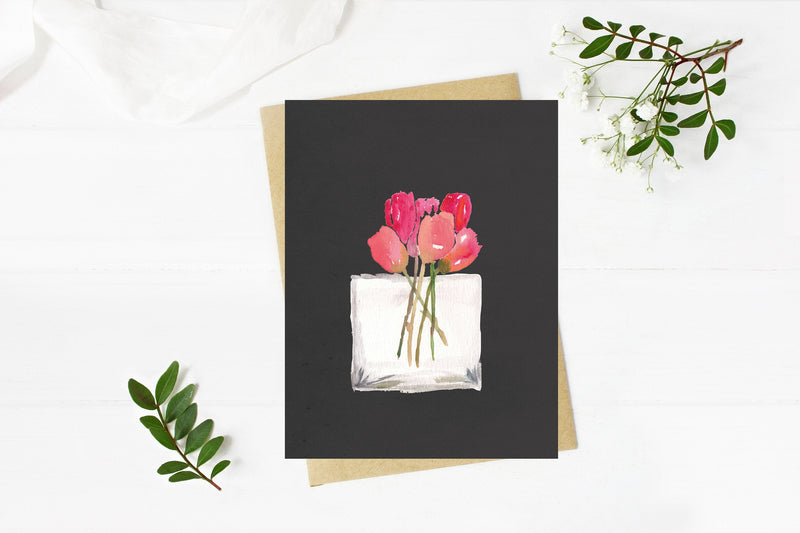 Tulips - A2 note cards