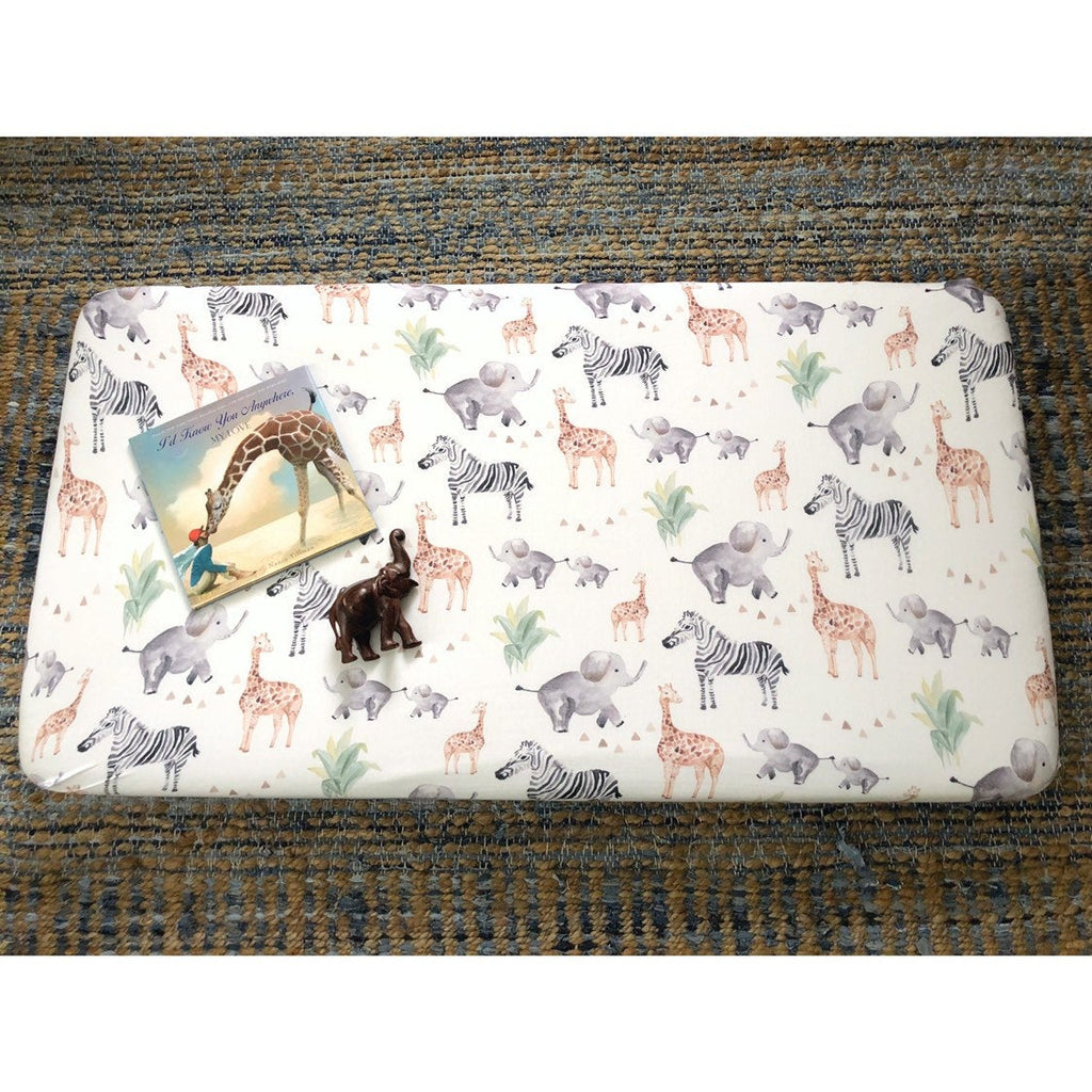 Safari Print | Crib Sheet (fitted)