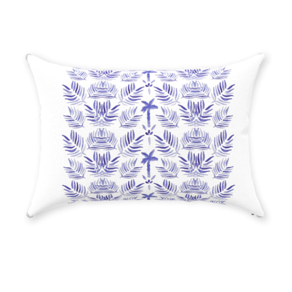 "Palm Print Pillow 14""x20"""