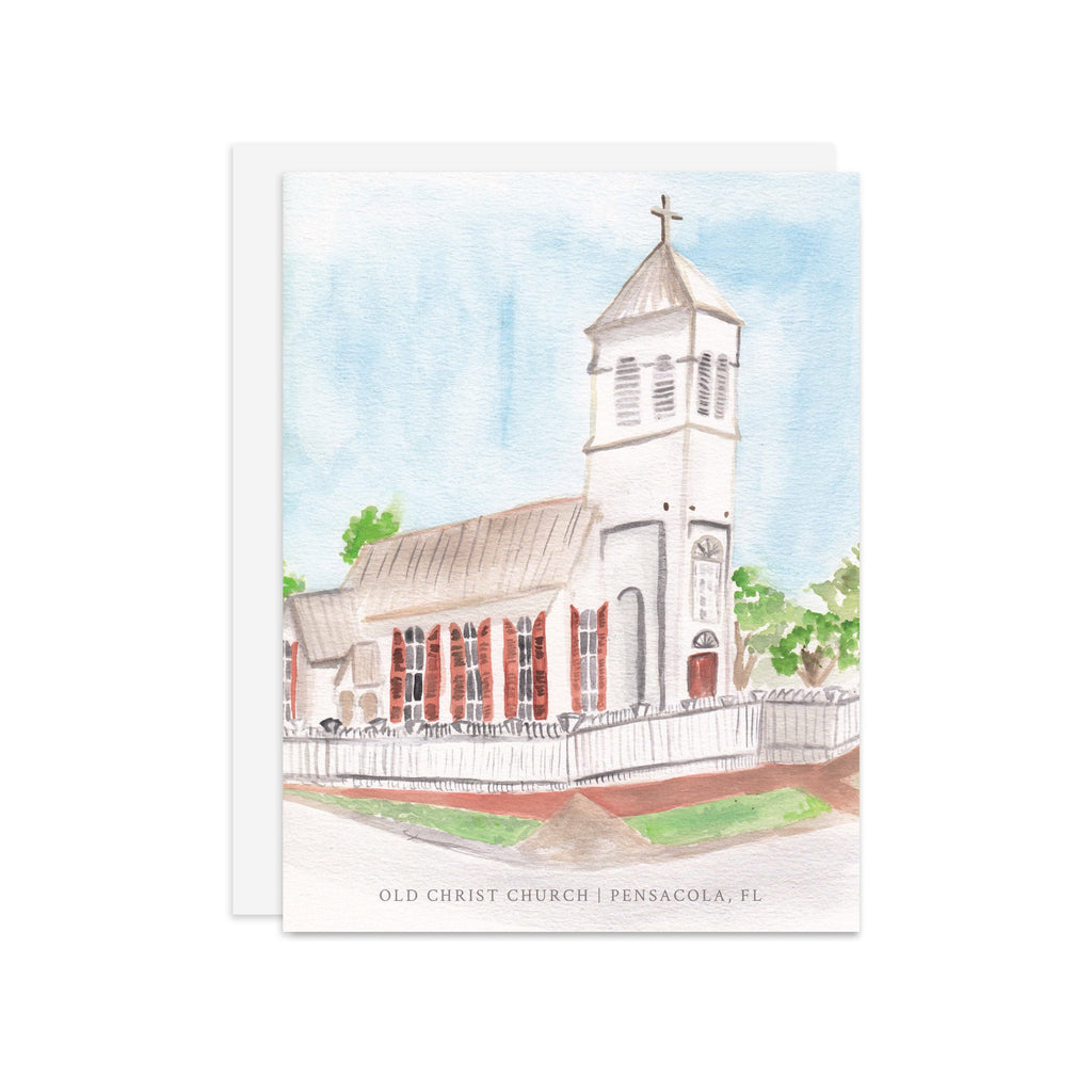 Old Christ Church - A2 note card