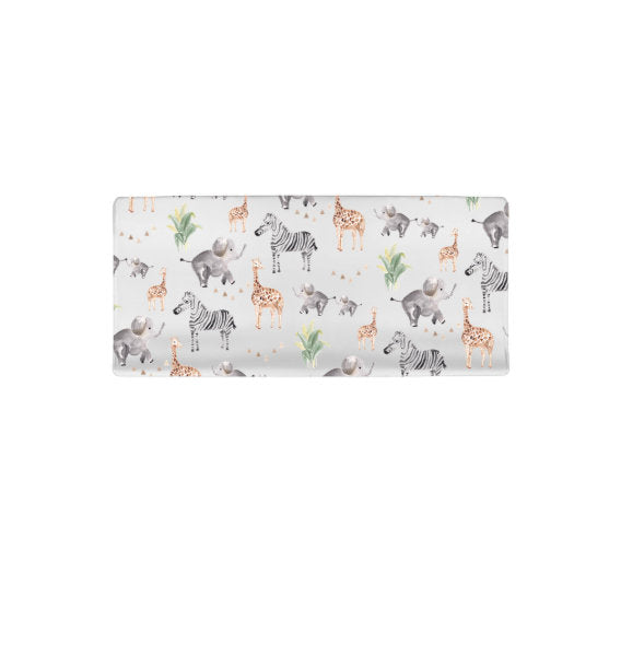 Safari Print | Changing Pad Cover (fitted)