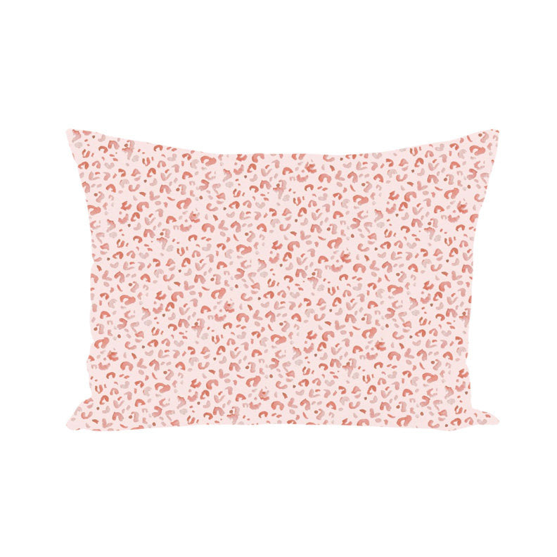 "Pink Leopard Pillow 14""x20"""