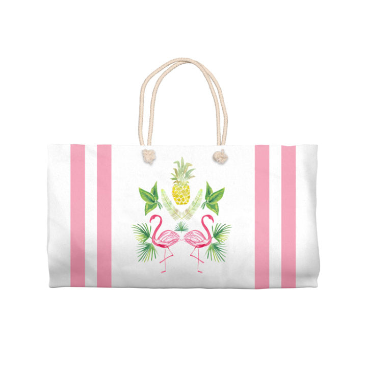 Pineapple Flamingo | Tote Bag