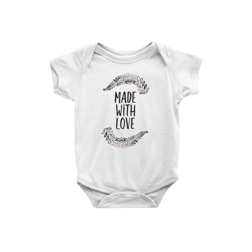 Baby Onepiece Bodysuit | Made With Love