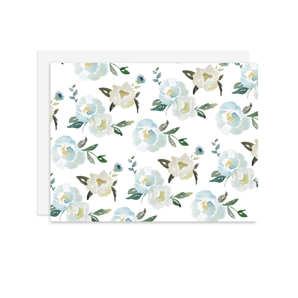 Suzette Floral - A2 note card