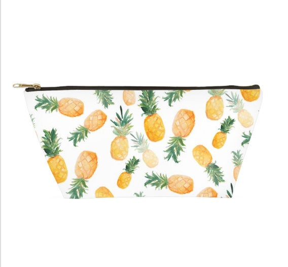 Falling Pineapples Accessory Pouch