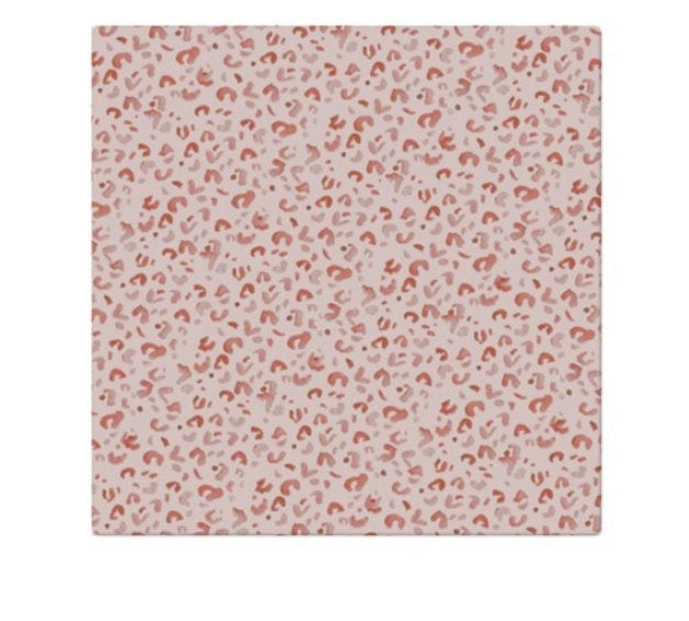 Cloth Napkins | Pink Leopard