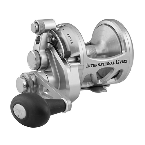 Penn INT12VISXS International Lever Drag Conventional 2-Speed Reel 12 sz