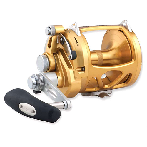 Penn INT130VIS International Lever Drag Conventional 2-Speed Reel 130 sz