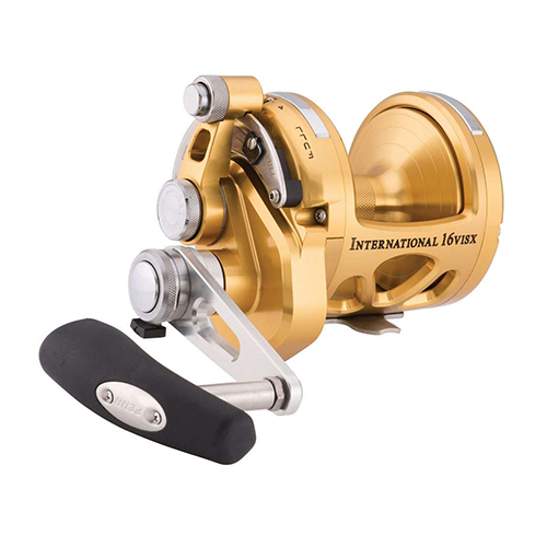 Penn INT16VISX International Lever Drag Conventional 2-Speed Reel 16 sz