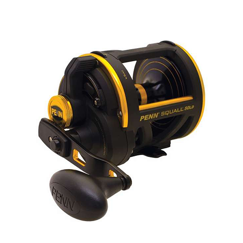 Penn SQL50LD Squall Lever Drag Conventional Reel