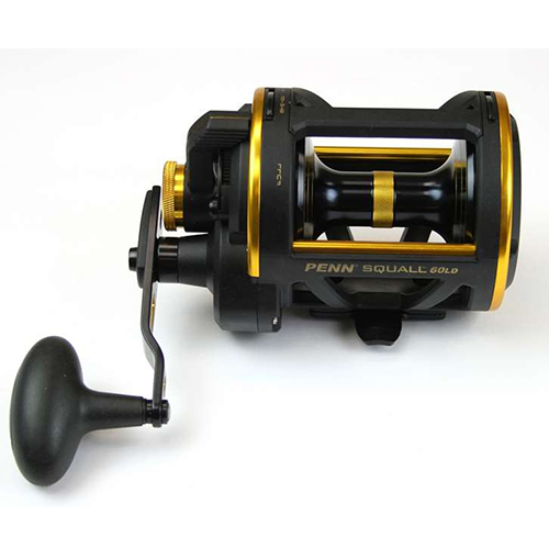 Penn SQL60LD Squall Lever Drag Conventional Reel