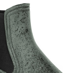 BOAH Suede Chelsea Wellies - Green