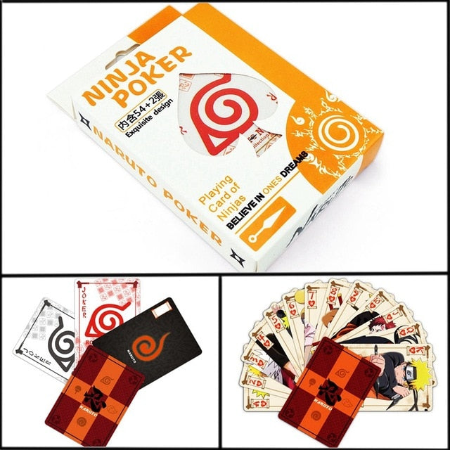 One Piece OP Poker Cards Entertainment  for Party Anime Comics Character Collector's Edition Playing Cards