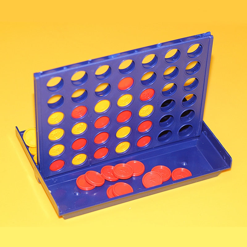 1 Set Connect 4 In A Line Board Game Children's Educational Toys for Kid Sports Entertainment
