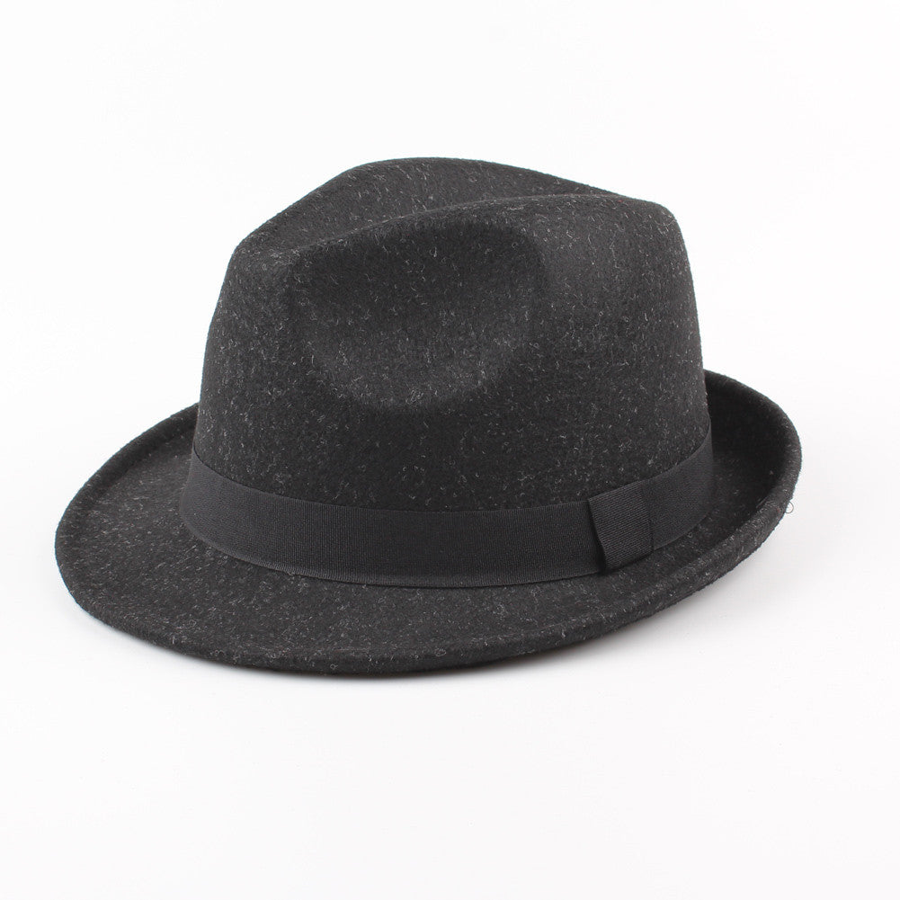 Wide Brim Men Women Fedora Hat Jazz Cap Unisex Sun Hat Solid Sunbonnet Trilby Beach Panama Hat