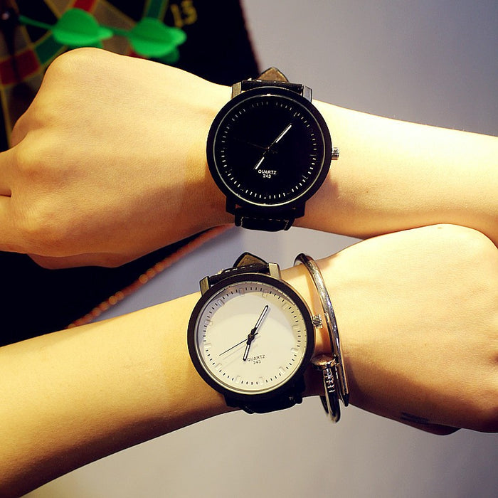 Simple Casual Couple Wrist Watches