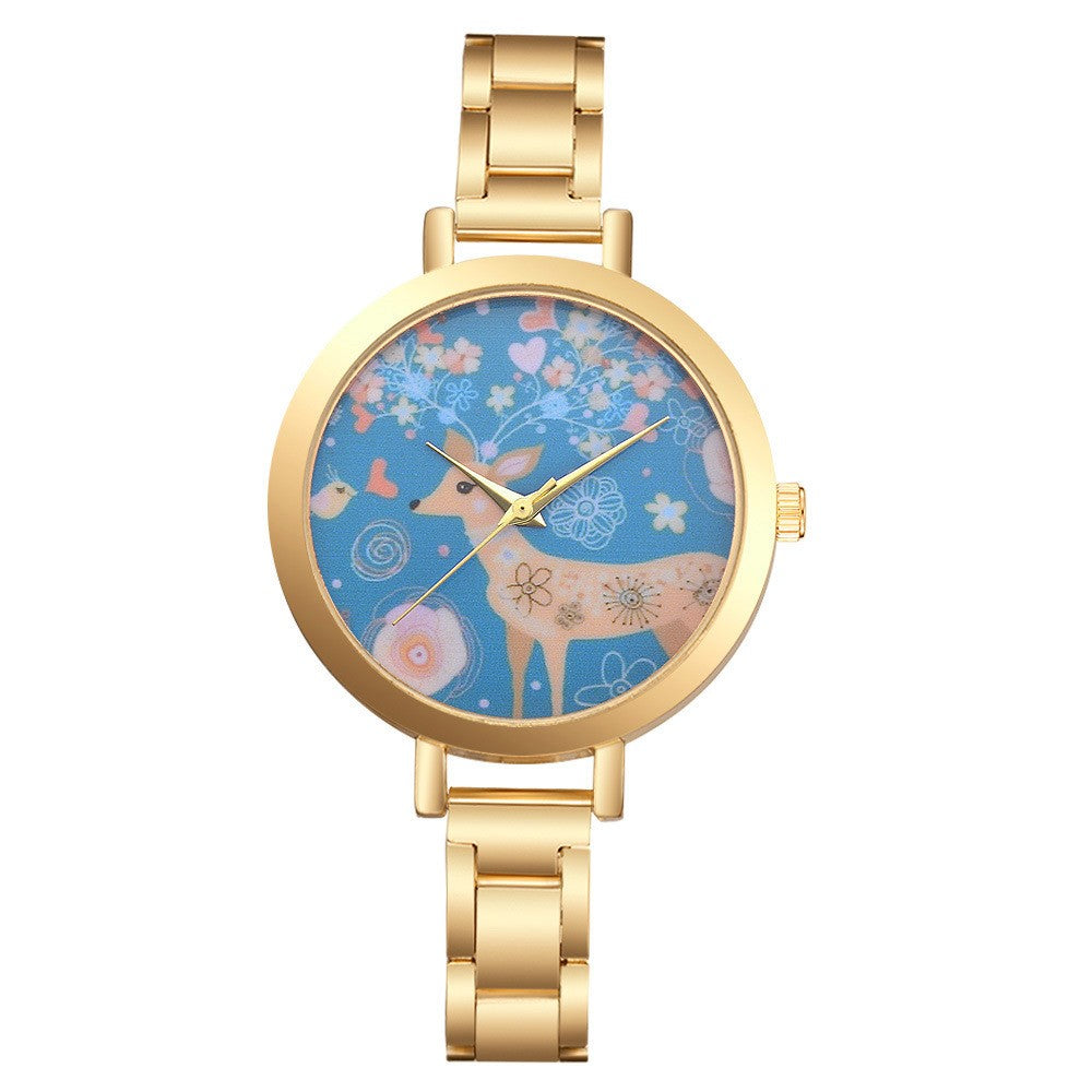 Luxury Deer Women Watches