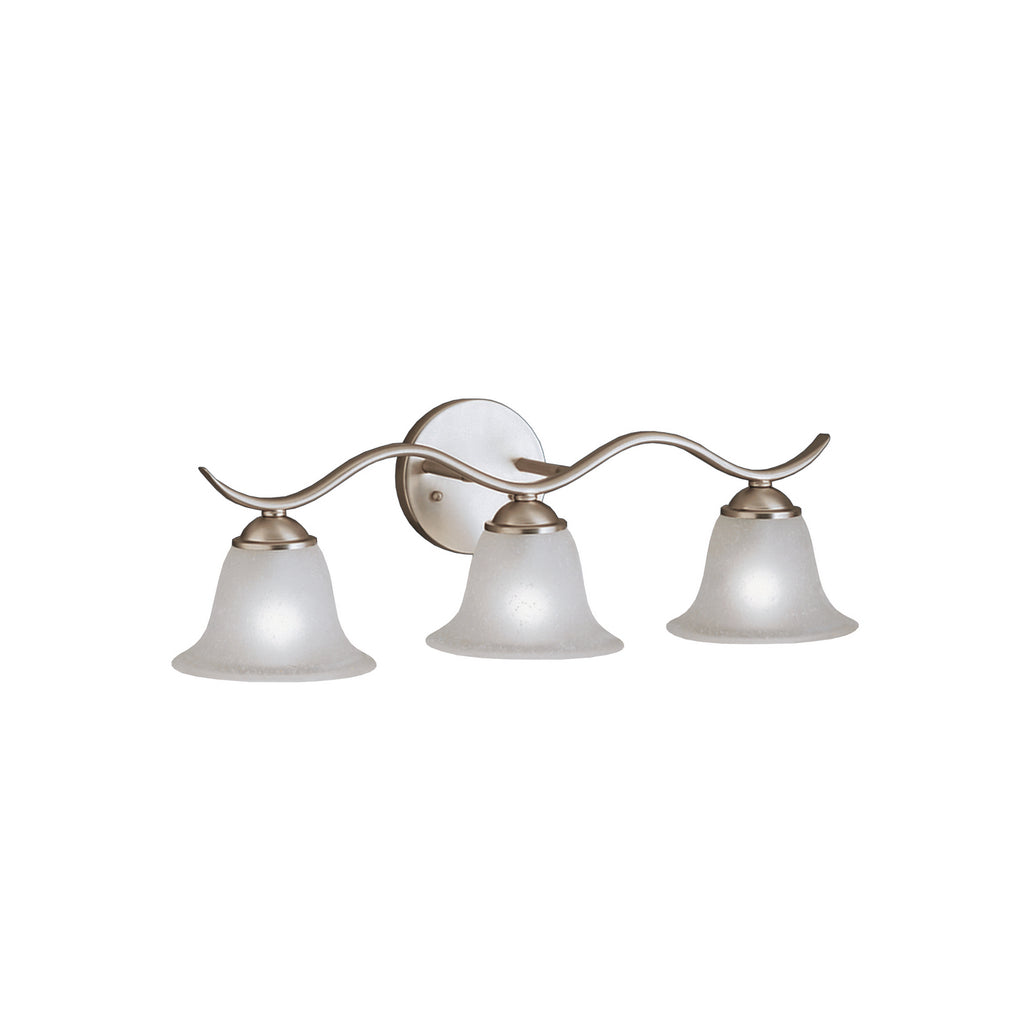 Dover Bath Sconce 3-Light in Brushed Nickel
