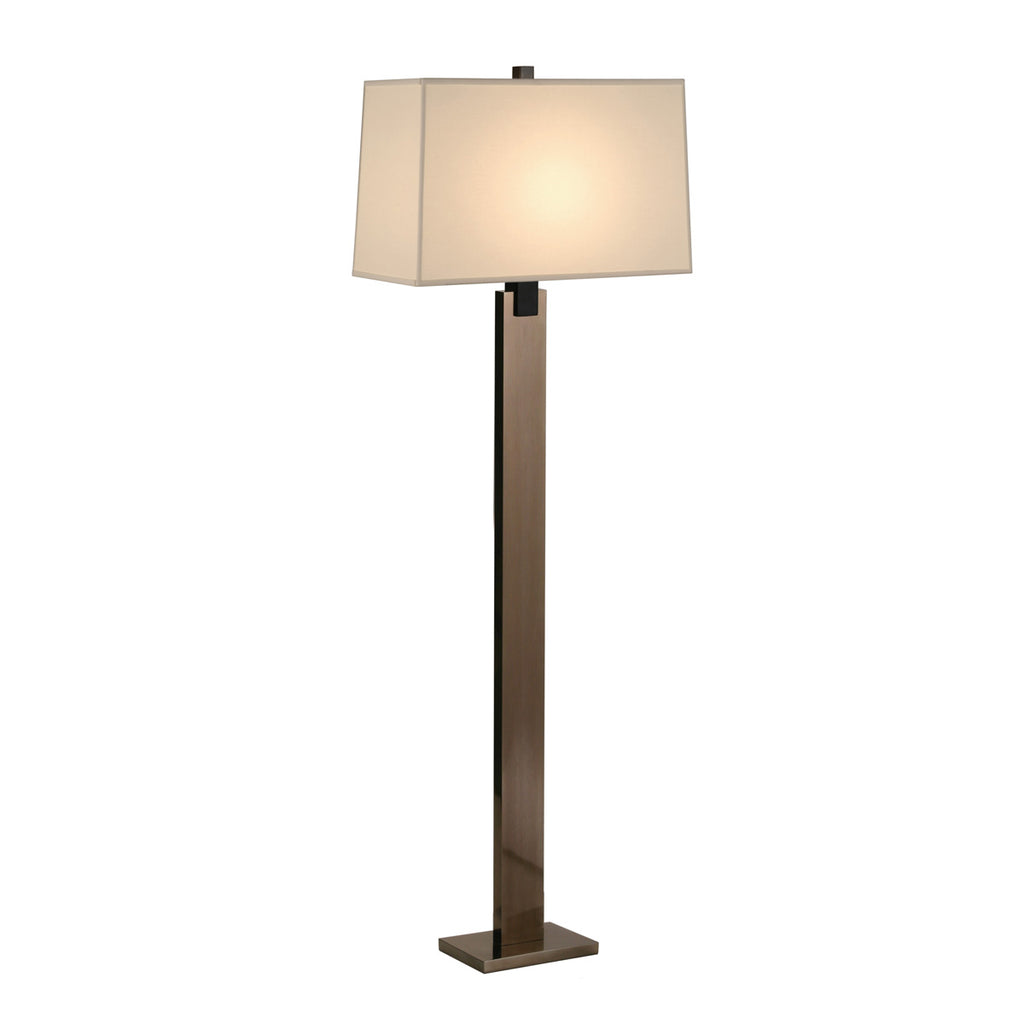 Floor Lamp in Black Nickel