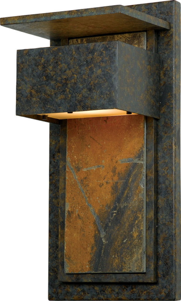 Zephyr 1-Light Outdoor in Muted Bronze