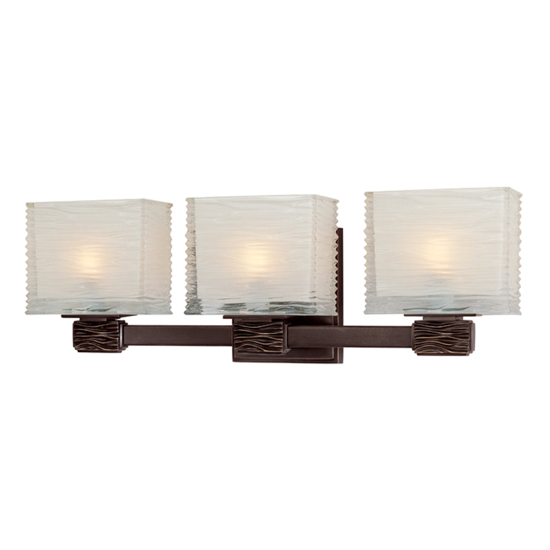 Hartsdale 3 Light Bath Bracket in Old Bronze