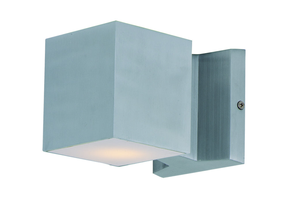 Lightray LED 2-Light Wall Sconce in Brushed Aluminum