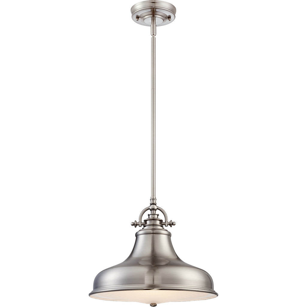 Emery 1-Light Pendant in Brushed Nickel
