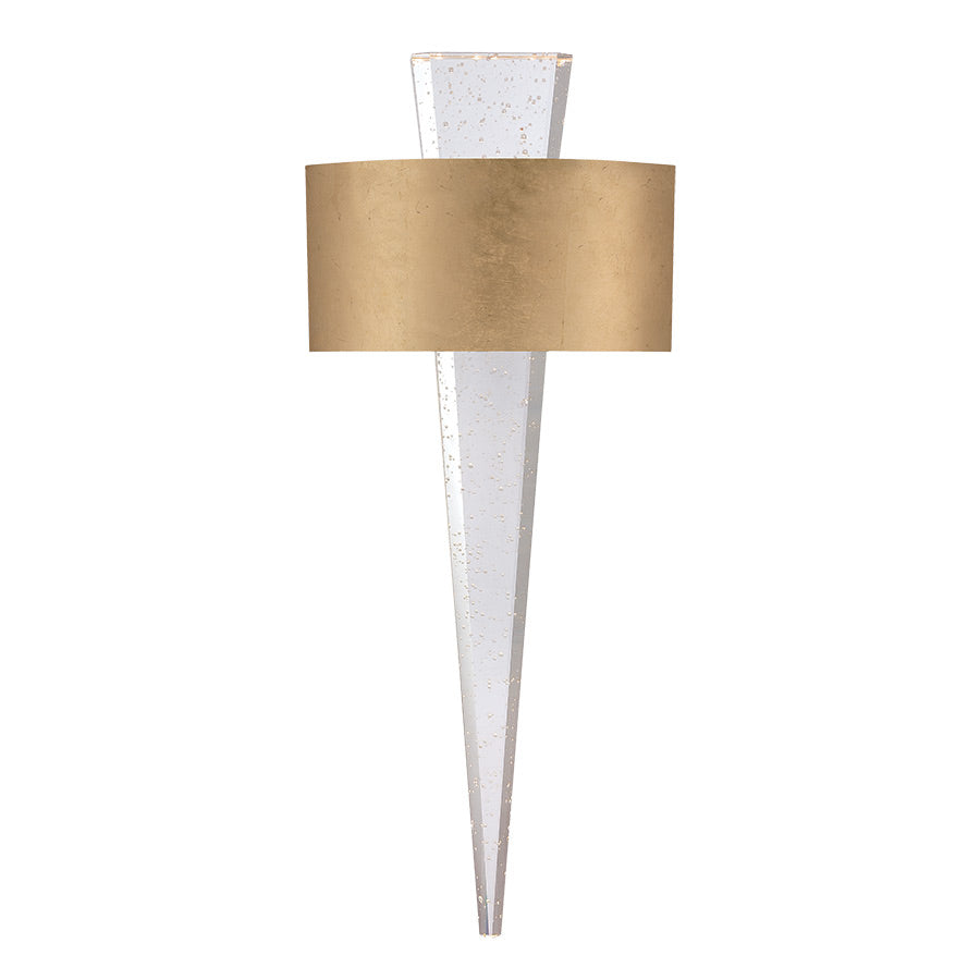 Palladian Wall Sconce in Gold Leaf