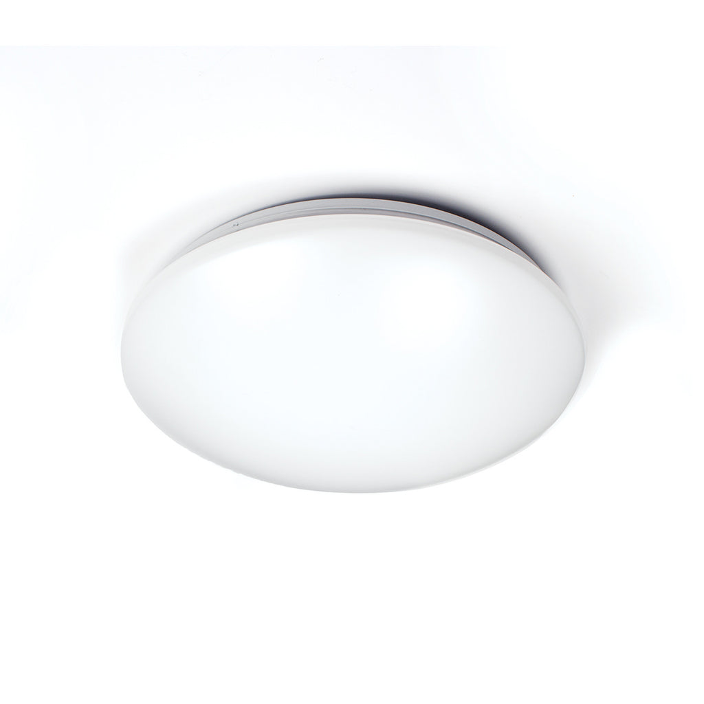 Glo 3500K 90CRI LED Flush Mount In White